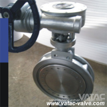 API 609&API509 Cast Steel A216 Wcb&Gg25 Metal Seated Wafer/Flanged RF Butterfly Valve