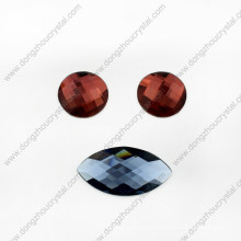 Colorful Decorative Glass Beads for Shoes