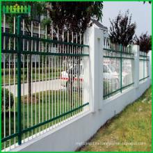 Китай Поставщик ПВХ с покрытием декоративный кованый забор