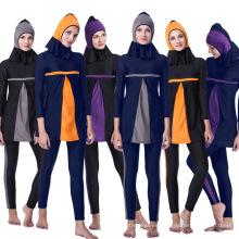 Traje de baño de las mujeres de la ropa islámica de Tingyu Traje de baño musulmán de la ropa de baño atractiva islámica