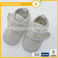 2015 precio bajo de la alta calidad superventas y zapatos de bebé baratos de la tela de algodón americana de la manera