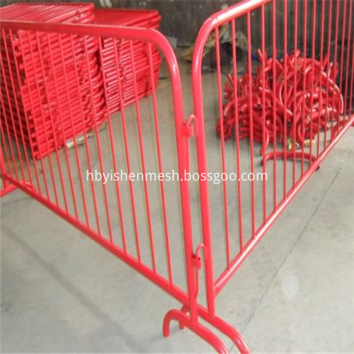 Galvanized Metal Control Barrier