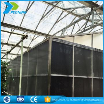 Treibhaus-Glasplatten, Polycarbonat-Blatt PC-Gewächshaus