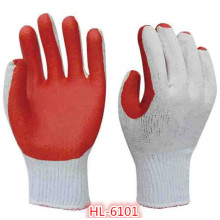10g Polycotton Latex Stuck Glove