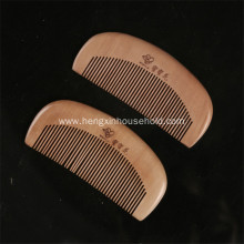 Customized and Engraved Logo Wooden Nature Comb