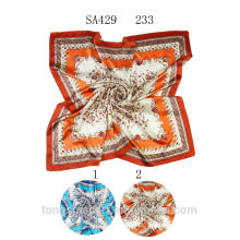 SA429 233 100% шелковый шарф 100% шелк хиджаб шали и scarvessupplier alibaba Китай