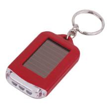 Tocha de Chaveiro 3led energia solar plástica mini