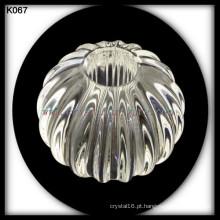 abóbora bola de cristal para a decoração do corrimão