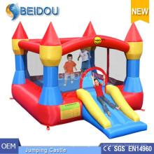 Прочный популярный замок мини-прыжков с прыжками надувной батут Bouncy Castle