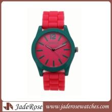 Женские Кварцевые часы с силиконовой лентой