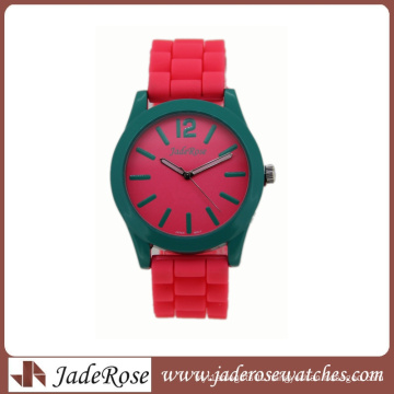New Style Silicone Alloy Watch with Customized Logo