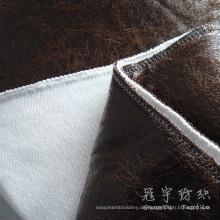 Polyester Leder Stoff 100 % Polyester für Sofa