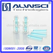 6mm Flat Base Glass Insert for autosampler vial