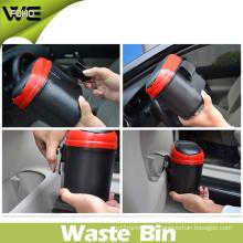 Modern Mobile Outdoor Mini Small Size Plastic Dustbin