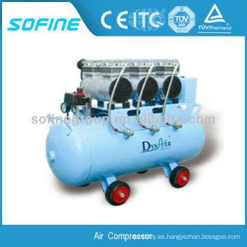Compresor de aire libre de aceite 2HP