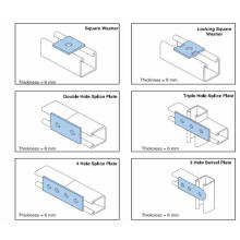 Strut Kanal 41x41 & 41x21 Rollformmaschine