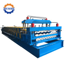 Double Layer Roofing Sheet Roller Forming Machinery