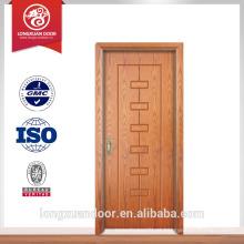 Novo design porta de fogo usado porta de madeira exterior porta do hotel