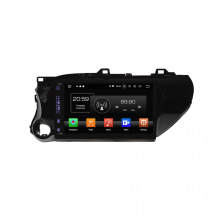 navigation multimédia de voiture pour Hilux 2016-2018