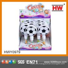 Nuevo regalo promocional Ideas Mini juguete de plástico de fútbol con Candy