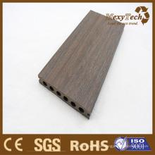 Coextrusão de Foshan WPC Decking - aparência natural