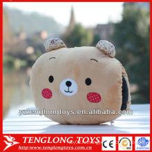 2014 новый тип милый и мягкий медведь плюшевые руки теплые подушки