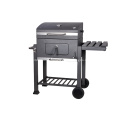 Outdoor Barbecue Grill And Smoker