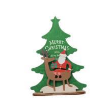 FQ marque boutique concepteur de bureau de bureau nouveaux ornements en bois décorations de Noël