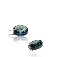 Тип Фарад конденсатор монета 0.47 Ф 5.5 в