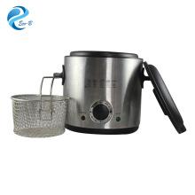 Venda quente Cozinha de alta qualidade Fritadeira pequena de batata 1,0L, Fritadeira General Electric