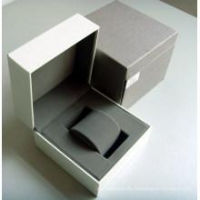 Caja de reloj de papel de regalo de embalaje personalizado de promoción