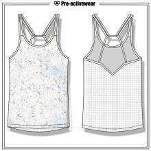Частная спортивная одежда для занятий спортом Женская одежда Spandex Yoga Tank Top