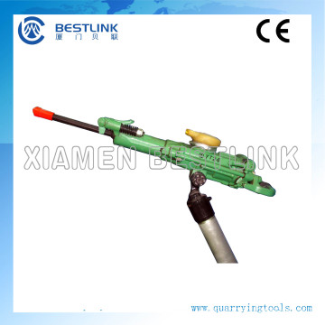 Hand Held Penumatic Rock Drill with Air-Leg