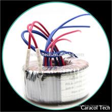 Transformador toroidal para amplificadores de áudio