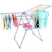 Clothes Drying Rack Foldable Metal Shoes Rack