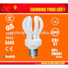 HOT! 3U LOTUS T2 13W energy saving lamp tube 10000H CE QUALITY