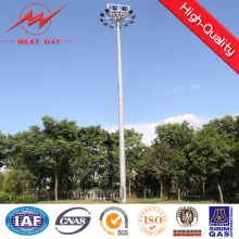 Fornecedor de torre de luz de estádio telescópico de 20 m galvanizado