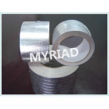 Cinta de papel kraft de aluminio, material de techo reflectante y plata
