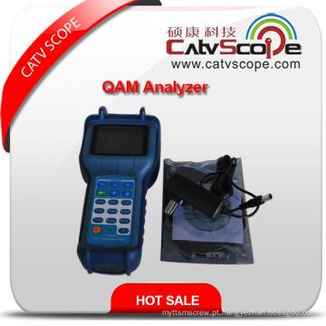 Analisador do Qam do espectro de 2400q Digitas CATV