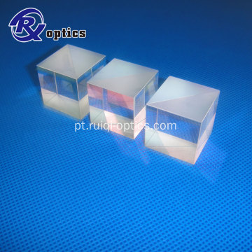 12.7mm 808nm AR coating beamsplitters polarizadores