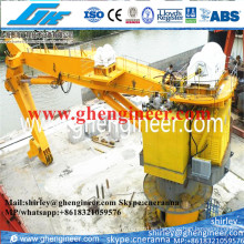 80t Knuckle Boom Pedestal Marino Grúas Offshore