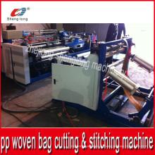 Auto PP Woven Bag Bottom Cutting Stitching Machine du fournisseur chinois