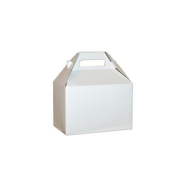 Cartucho de cartón blanco Caja de embalaje plegable para alimentos