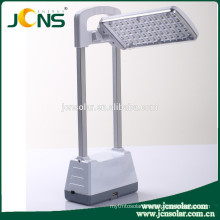 3W solar emergency light with USB port for mobile charging for home use