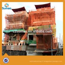 Nouveaux nouveaux produits construction protection contre les chutes filets de sécurité