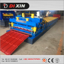 Dx 1100 de Metal Roofing Steel Tile Roll formando la máquina