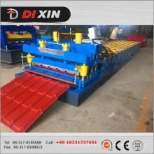 Dx 1100 Metal telhadura telha de aço rolo dá forma à máquina
