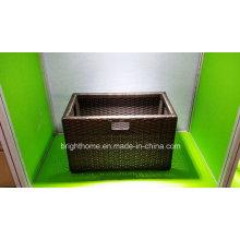 Прямоугольная корзина для хранения. Коробка для полотенец