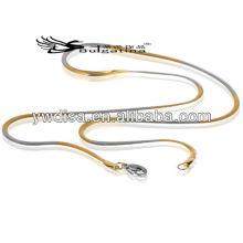 La cadena más nueva que viene de la serpiente cadena gruesa del collar del acero inoxidable para los hombres joyería