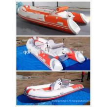 la Chine côtes nouvelle fibre de verre bateau gonflable
